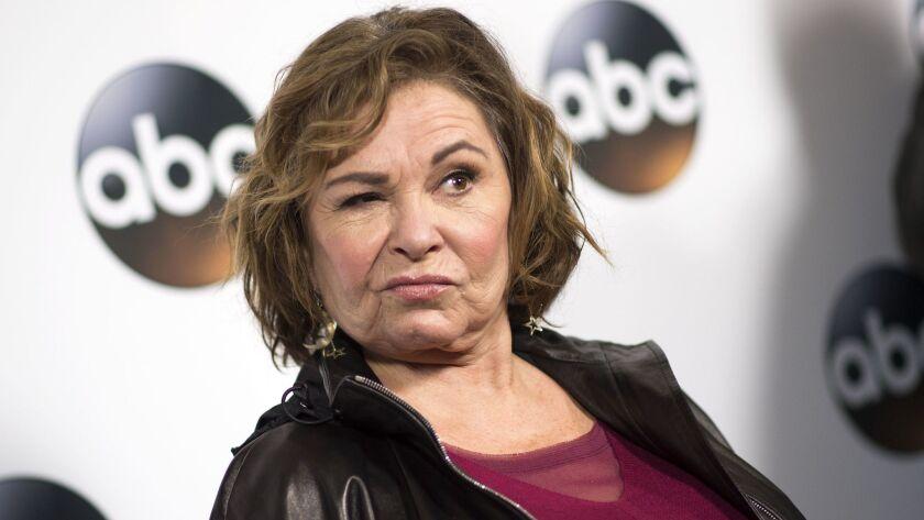 Roseanne Barr in January.