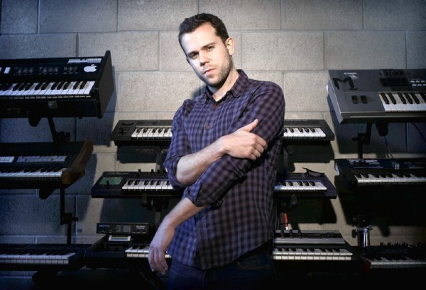 Review: M83 and Hollywood Bowl Orchestra explore youth