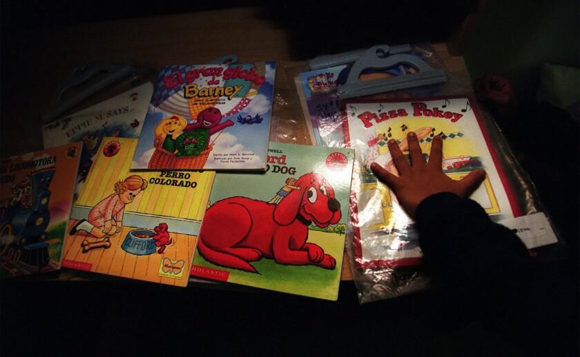 Reading center changed girl's attitude toward books