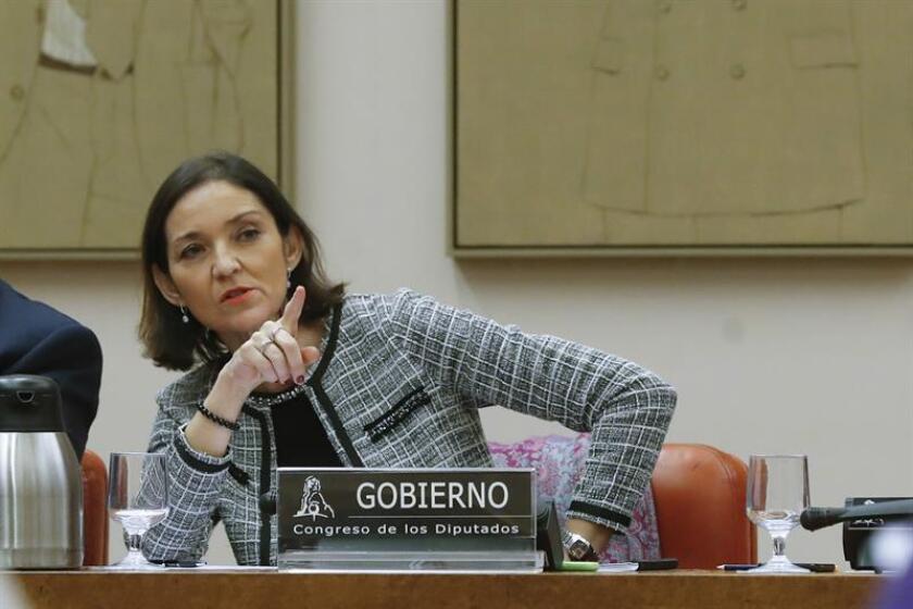 La ministra de Industria, Comercio y Turismo, Reyes Maroto. EFE/Archivo