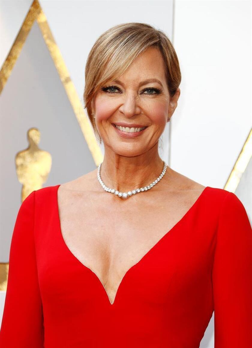 Allison Janney arrives for the 90th annual Academy Awards ceremony at the Dolby Theatre in Hollywood, California. EFE