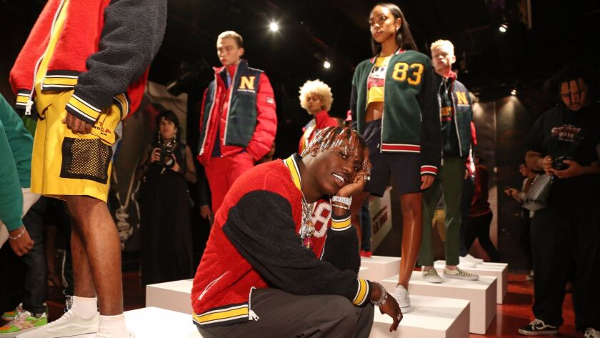 The Lil Yachty Collection by Nautica presentation, Spring Summer 2018, New York Fashion Week, USA - 07 Sep 2017