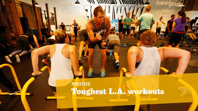 When your workout's this tough, an hour -- or half that -- is all you need to get the job done.