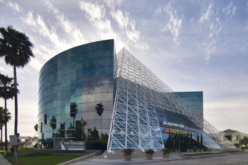 The pyramid building on Miramar Road is becoming the San Diego Innovation Center under its new owners.