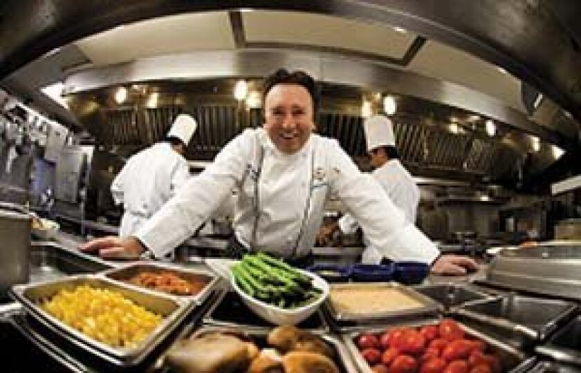 Executive Chef Bernard Guillas of the Marine Room. Photo: Courtesy