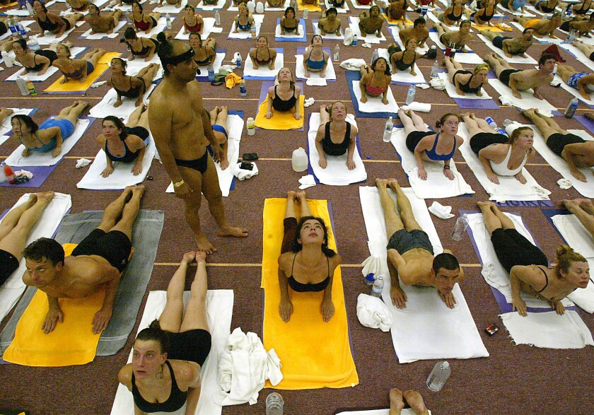 A Los Angeles County Superior Court jury deliberated for about a day before returning a unanimous verdict on punitive damages against yoga guru Bikram Choudhury, standing.