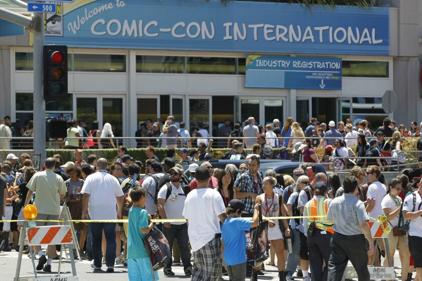 Comic-Con, held each July in the San Diego Convention Center, typically attracts more than 130,000 attendees. Tickets last year sold out within an hour.