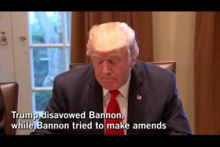 Bannon loses job at Breitbart after feud with Trump