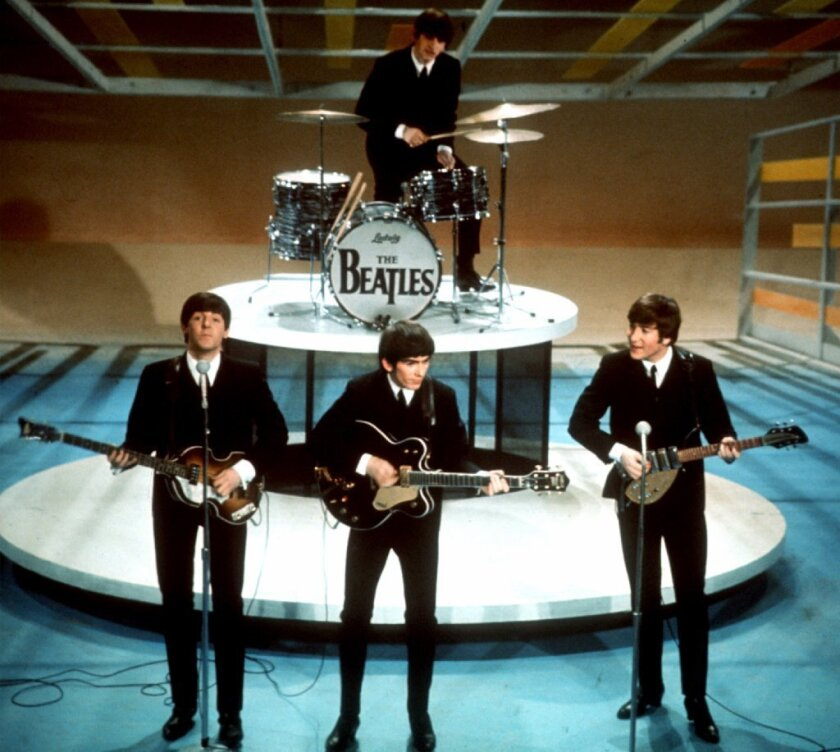 Selections from the Beatles' back catalog were made available to streaming services last week.