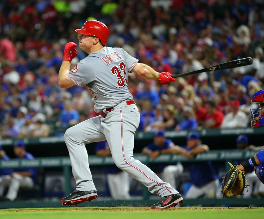 Could Jay Bruce be wearing Dodger blue later this season?