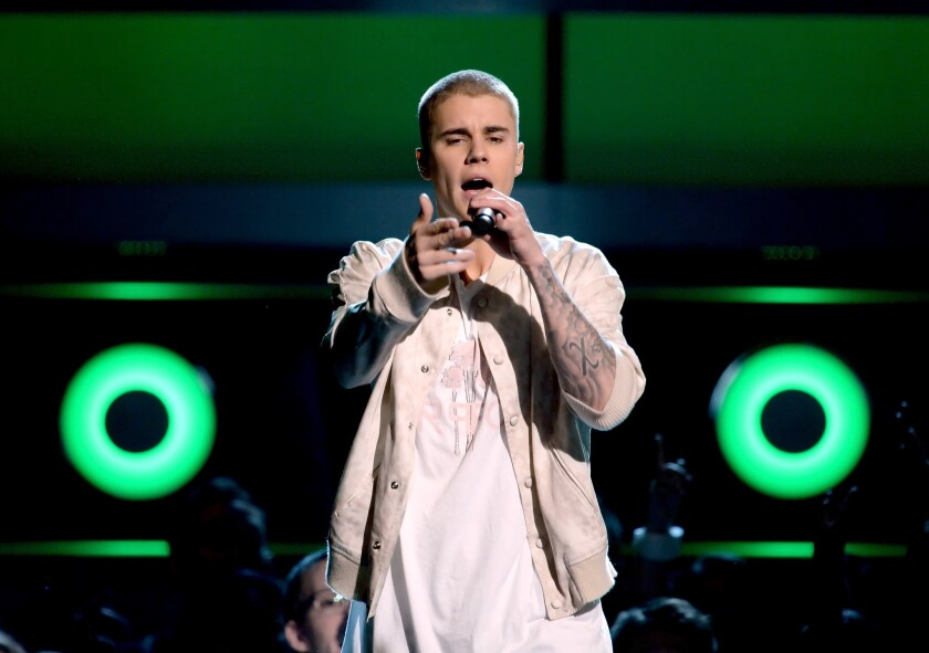 """Justin Bieber and producer Skrillex have been sued over the hook for their single """"Sorry."""""""