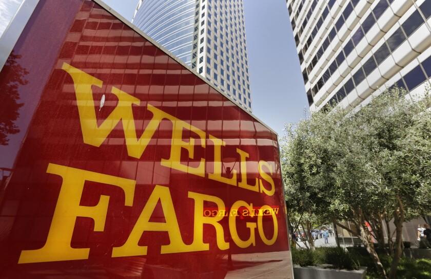 Wells Fargo offices in Oakland.