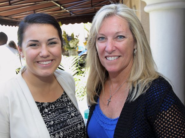 Candace Robinette (from Assemblyman Rocky Chavez office), Carrie Moore