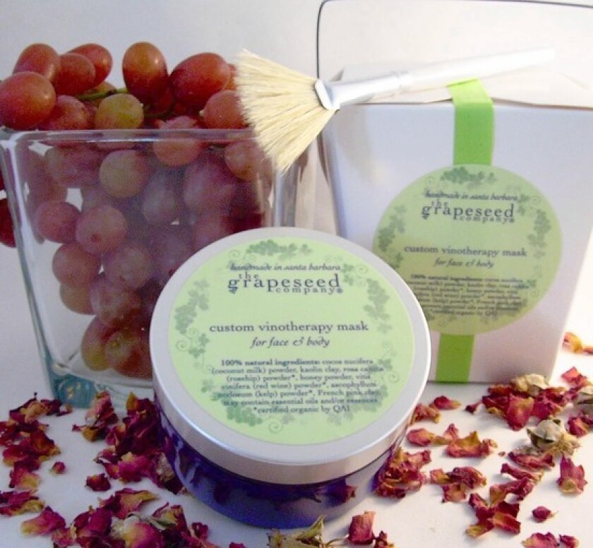 Grapeseed Co. Custom Vinotherapy Mask To-Go Box