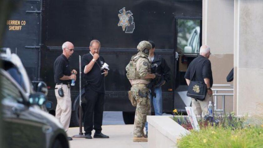 El ataque ocurrió al interior de la Corte del condado de Berrien, una localidad del suroeste de Michigan.