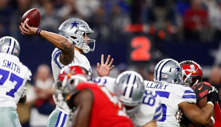Los Cowboys (12-2) se recuperaron después de que vieron detenida su marcha de 11 triunfos consecutivos y se mantienen liderando la División Este de la Conferencia Nacional. EFE
