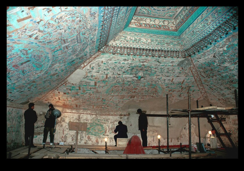 The Getty Conservation Institute's 25-year partnership with Dunhuang Academy is the institution's longest-running project.