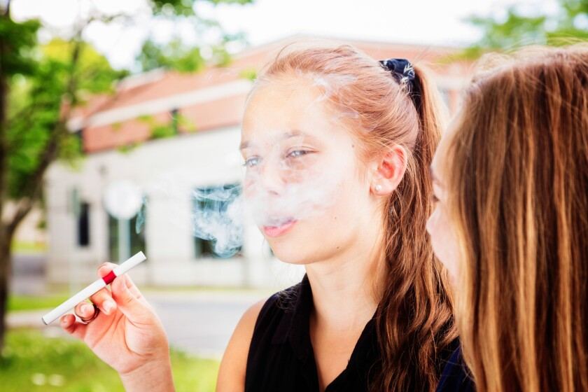 Vaping among youth has skyrocketed in recent years, in large part due to child-friendly flavors.