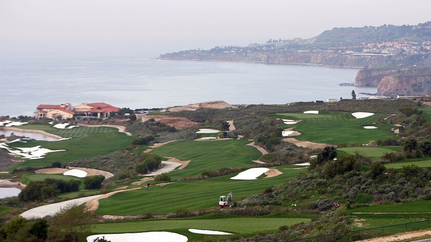 The Trump National Golf Course on the Palos Verdes Peninsula.