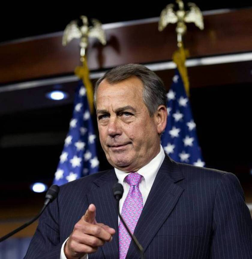 For the third time this year, House Speaker John A. Boehner has abandoned the common practice of bringing bills to a vote only if they have the support of a majority of the speaker's party.