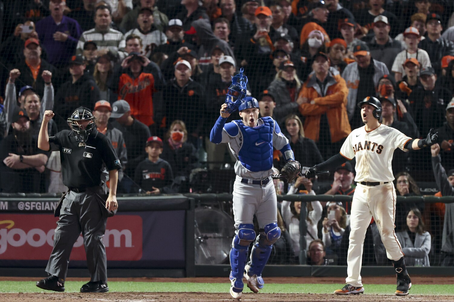 Dodgers-Giants rivalry is a showdown between the two Californias
