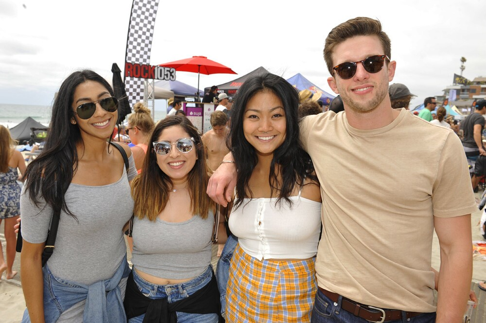 San Diegans at the iconic 14th annual Switchfoot BRO-AM Beach Fest experienced surf contests, live music and numerous vendors at Moonlight Beach in Encinitas on Saturday, June 30, 2018.
