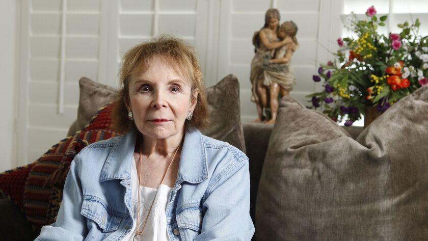 Jan Brown at her La Jolla home.