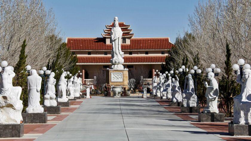 Thien Vien Chan Nguyen Buddhist Meditation Center in Adelanto.