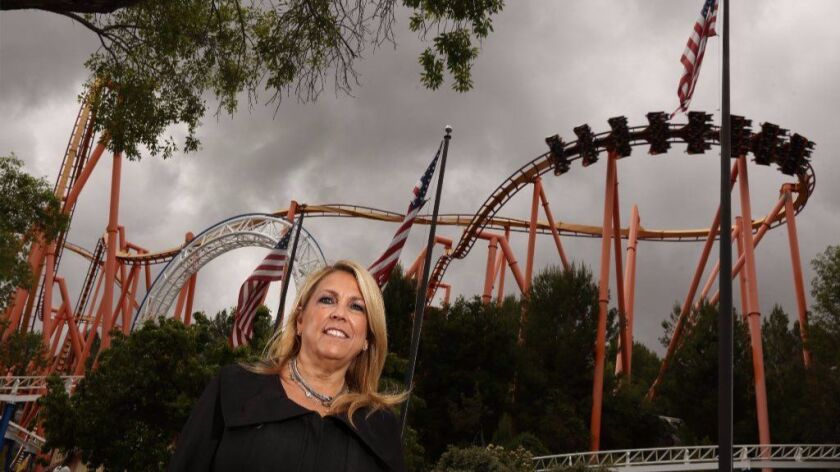 Bonnie Weber, president of Six Flags Magic Mountain, said the change means the theme park can better