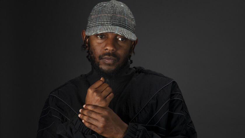 EL SEGUNDO, CA --DECEMBER 06, 2018 -- Grammy and Pulitzer Prize-winning hip-hop artist Kendrick Lama