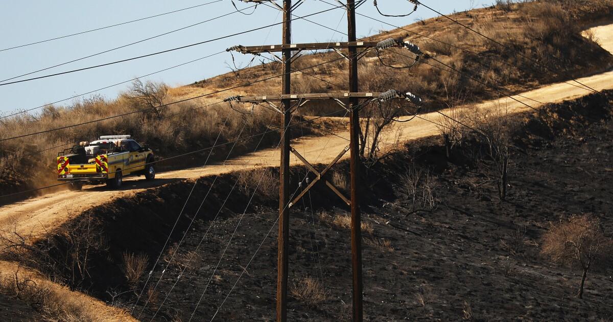 最後に、一部の救済:Santa Ana風が弱まると火災気象警報L.A.エ了