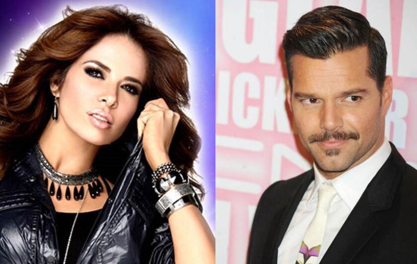 Gloria Trevi y Ricky Martin siempre han apoyado a la comunidad LGBT+.