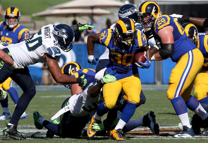 first rate b940c feb5b Rams will try one last time to let Todd Gurley run wild (or ...