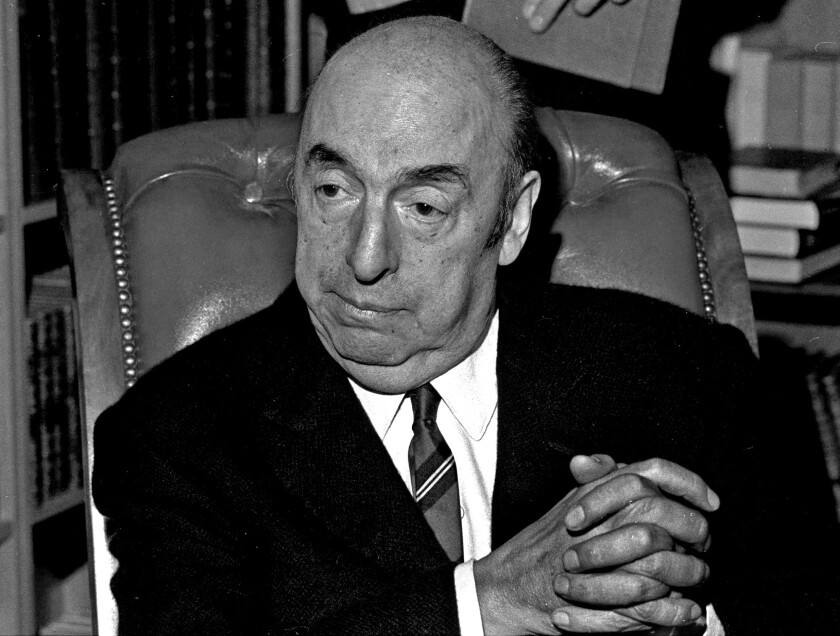 Pablo Neruda in 1971. A new cache of unpublished Neruda poems has been discovered in Chile.
