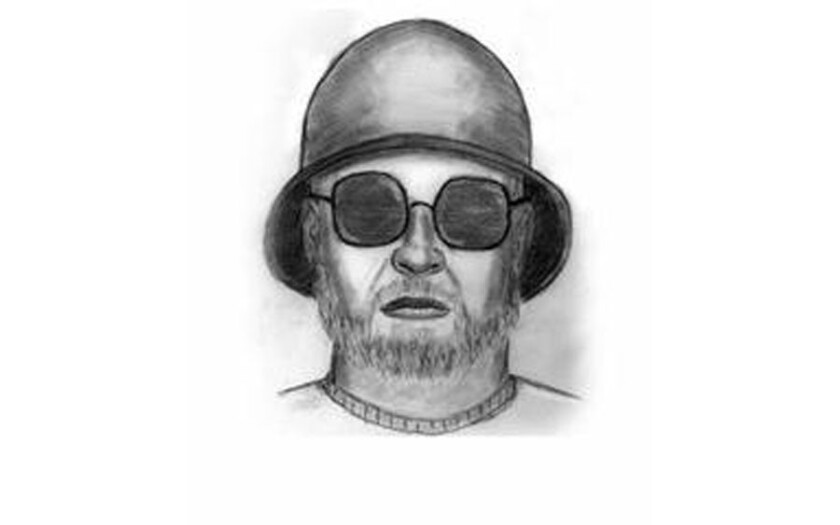 Detectives released this sketch of hammer-wielding attacker wanted in East L.A.