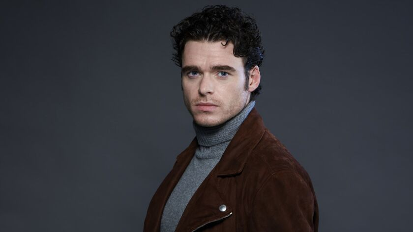 Actor Richard Madden, photographed Oct. 16 in London.