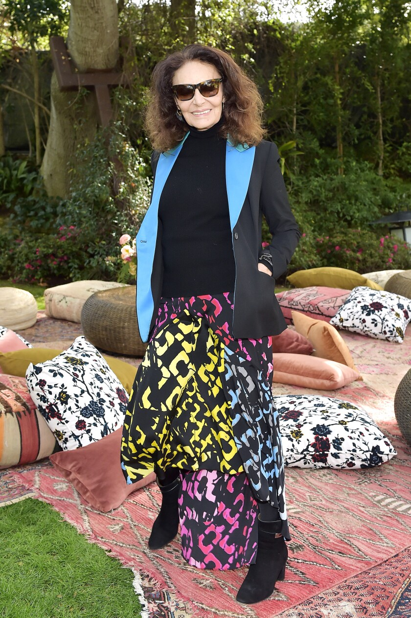 Diane von Furstenberg says the goal of the annual pre-Oscars lunch is to foster a community among women.
