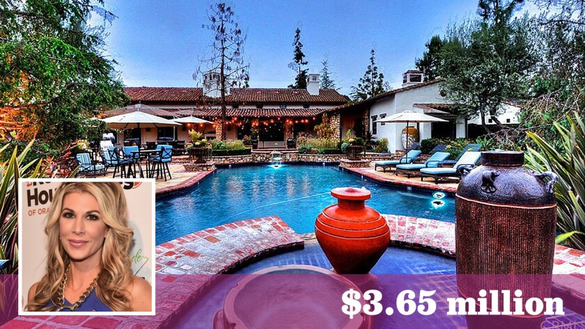 """Former """"Real Housewives of Orange County"""" personality Alexis Bellino has bought a roughly three-acre estate in San Juan Capistrano for $3.65 million."""