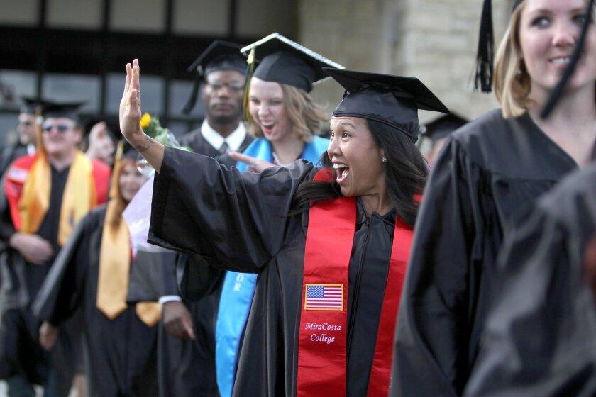 Mixed report on community college graduation rates - The San Diego  Union-Tribune
