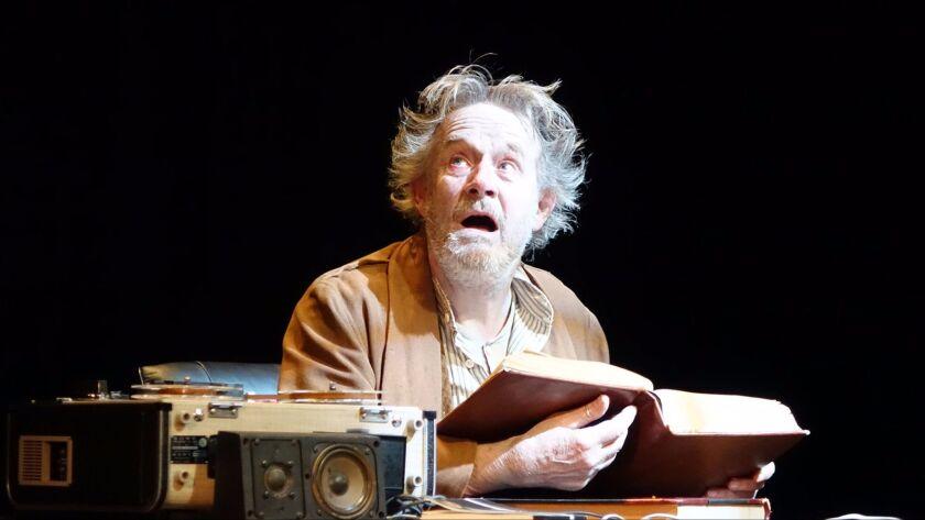 """Norbert Weisser in """"Beckett 5."""""""