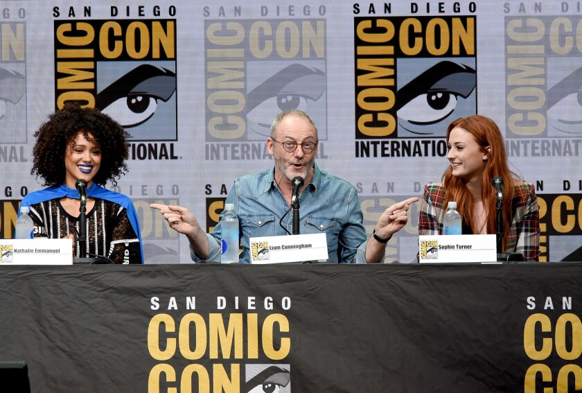 """Comic-Con International 2017 - """"Game Of Thrones"""" Panel And Q+A Session"""