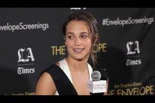 'Danish Girl': How Alicia Vikander learned to paint