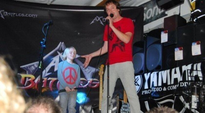 The RockAdemy, a new music school in Solana Beach, caters to musicians between the ages of 5 and 17. Courtesy photo