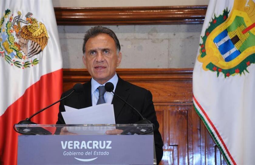 En la imagen, el gobernador de Veracruz, Miguel Ángel Yunes. EFE/Archivo