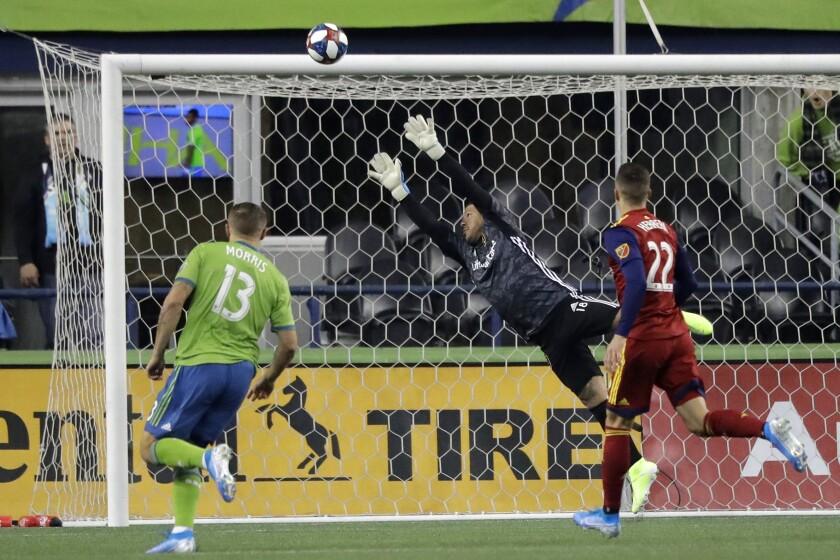 MLS Real Salt Lake Sounders Soccer