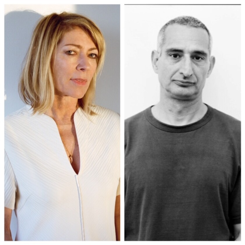Kim Gordon and Christopher Wool