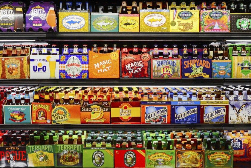 The craft brew aisle at any store can be daunting, but with a few simple tips, you'll be a brew buying machine. (iStock)