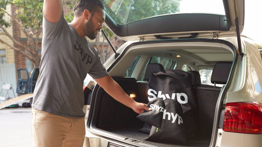 Shyp, which dispatches workers to pick up, package and mail items, is working to make its service more business friendly.