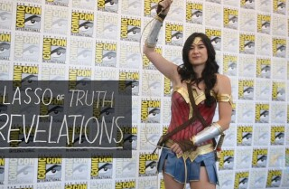 Watch Wonder Woman use her lasso of truth at Comic-Con
