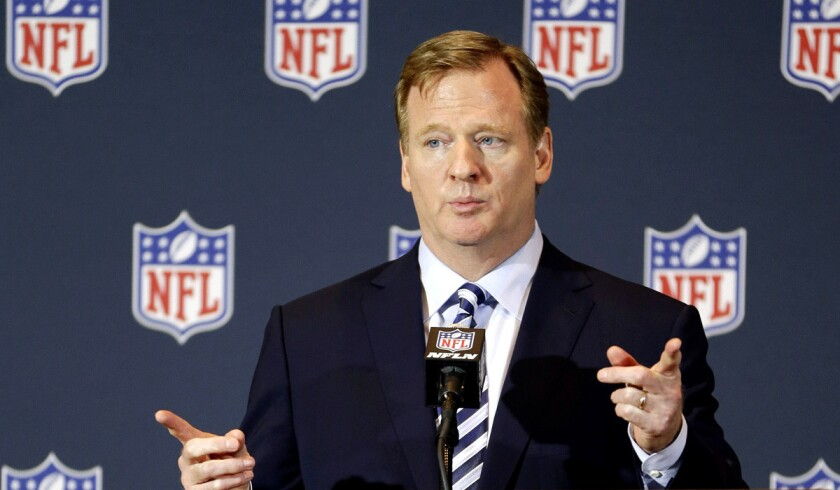 NFL Commissioner Roger Goodell says he reviewed all aspects of the personal conduct policy and consulted with a wide range of experts, team owners and representatives of the players' association in determining punishment in domestic violence cases.